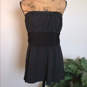 Awesome WHBM Strapless Top
